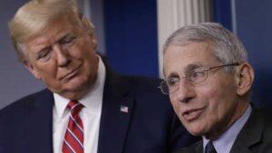 Trump le dice idiota a Anthony Fauci, el principal epidemiólogo de EEUU
