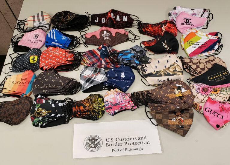 Decomisa CBP cubrebocas 'piratas' y medicamento falso anti covid