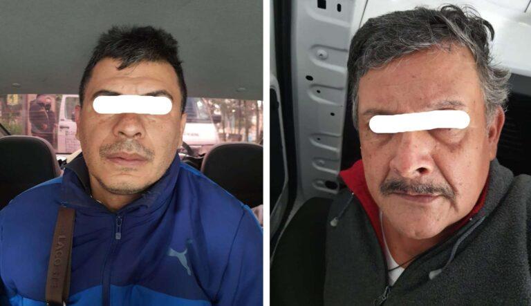Detienen a sujetos que abandonaron bolsas con medicamento robado