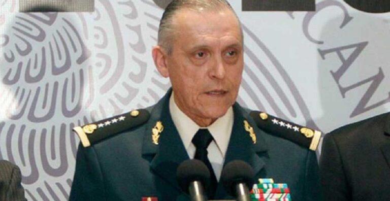 General Salvador Cienfuegos, exsecretario de la Defensa Nacional