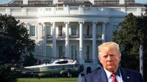 Donald Trump tiene fiebre, es llevado al hospital Militar Walter Reed