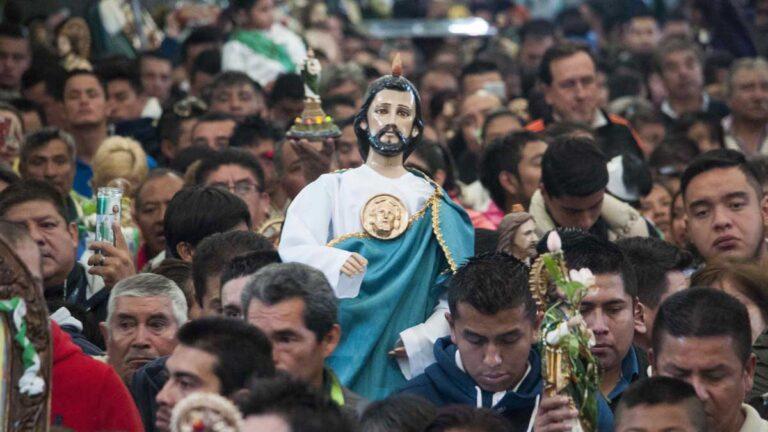 28 de octubre, día de las Fiestas de San Judas Tadeo