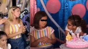 VIDEO: Karla Panini parodia a niñas del pastel y la critican