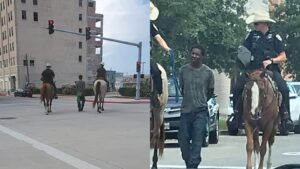 Policías lo exhiben como esclavo y ahora los demanda por 1 mdd