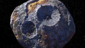 Elon Musk va por Psyche 16, el asteroide multimillonario que contiene oro
