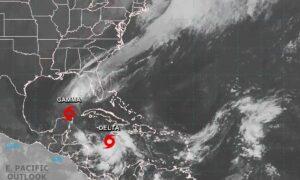 Tormenta Delta ya alcanzó fuerza de huracán; su destino es México