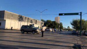 Comienzan medidas anti Halloween: bloquean avenidas de Nuevo Laredo