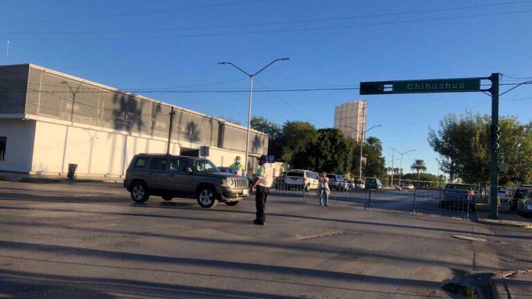 Avenidas de Nuevo Laredo bloqueadas por Halloween