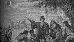 El día que un Eclipse salvó a Cristobal Colón de morir