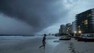 Huracán Zeta: De esta forma golpea en estos momentos a Quintana Roo VIDEOS