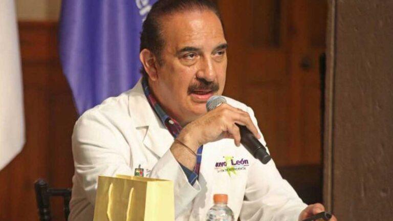 Manuel Enrique de la O, Secretario de Salud de Nuevo León