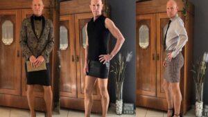 Mark Bryan, el ingeniero en robótica que viste falda y tacones diariamente