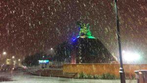 73 días para navidad: estas son las condiciones para que caiga nieve