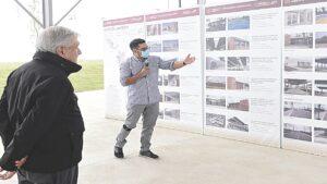 Entregan AMLO obras para Nuevo Laredo, Tamaulipas