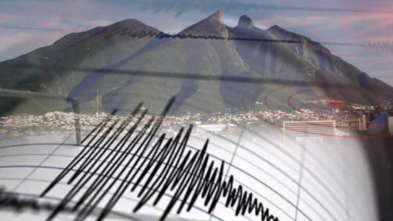 Reportan sismo en Monterrey