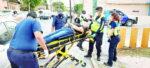 Tremendo choque deja 2 heridos y cuantiosas pérdidas