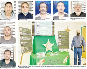 Arrestan a 7 con drogas