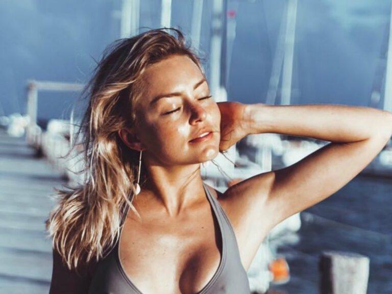 Angelique Boyer recuerda cuando posó el toples y enciende Instagram