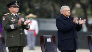 Ejército reitera su lealtad a AMLO en el aniversario de la Revolución Mexicana