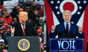 El demócrata Joe Biden es favorito en las Casas de Apuestas