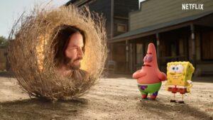 Bob Esponja al rescate, con Keanu Reeves hoy se estrena en Netflix