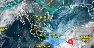 Este fin de semana llega el frente frío 11 a Tamaulipas
