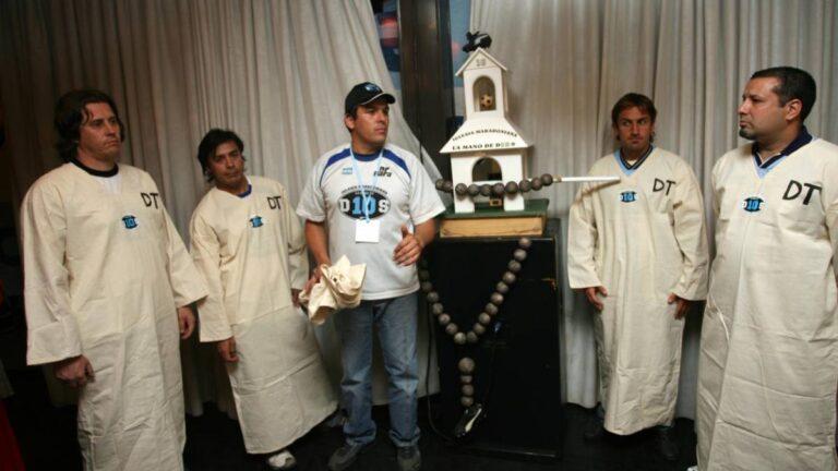 Iglesia Maradoniana: Un culto a Maradona el D10S del futbol