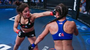Lupita Godínez: La campeona de MMA que huyó de la violencia en México
