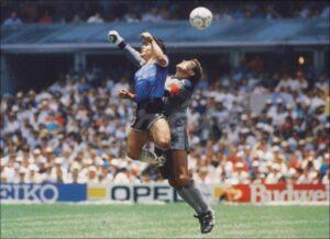 """""""La Mano de Dios"""", el gol de Maradona que dejó huella en el futbol mundial"""