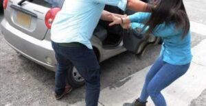 Joven se lanza de auto en movimiento para escapar de rapto en Altamira