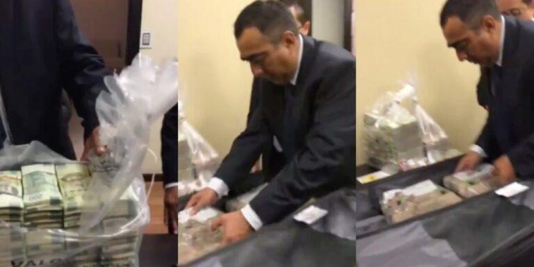 PANista confiesa haber recibido 15 maletas con sobornos de Odebrecht
