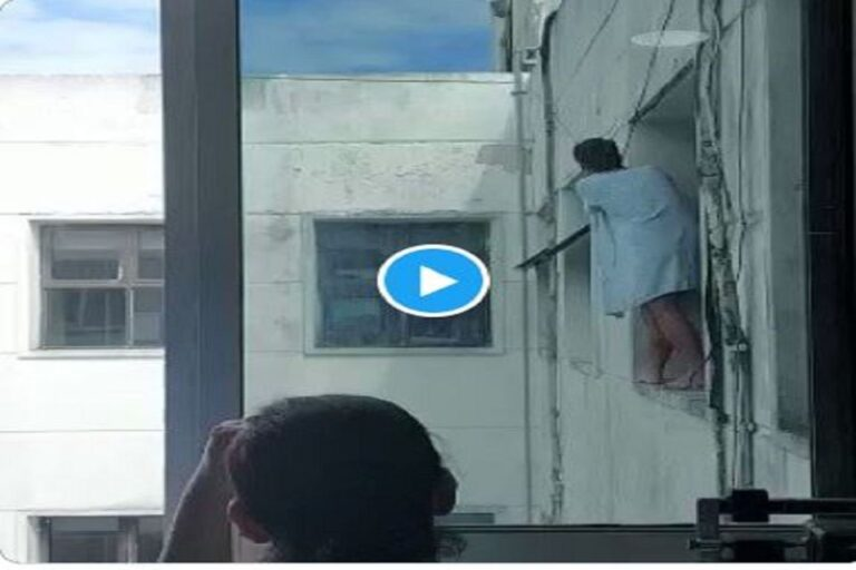 Paciente psiquiátrico se lanza desde el segundo piso