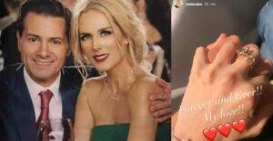 ¿Peña Nieto le propone matrimonio a Tania Ruiz?