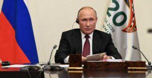 Rusia, lista para dar vacuna anticovid a países que la necesiten: Putin en G20