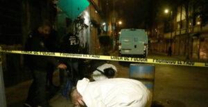 Sujeto transportaba restos humanos en un diablito en calles de la CdMx