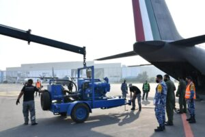 Envían apoyo militar a Tabasco por lluvias e inundaciones