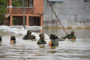 Actividades que realiza el Ejército y la Fuerza Aérea Mexicanos en la aplicación del Plan DN-III-E en el estado Tabasco
