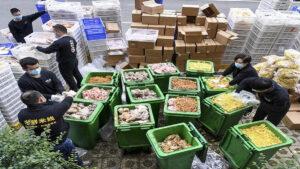 China: rastros de Covid-19 en alimentos importados de Ecuador y Brasil