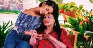 Así fue la despedida de Ángela Aguilar a su abuelita Flor Silvestre