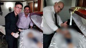 Se disculpa empleado de funeraria por foto con cuerpo de Maradona