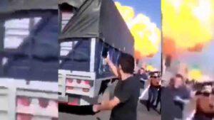 Explosión de pipa deja 12 Muertos en en carretera a Nayarit: FOTOS