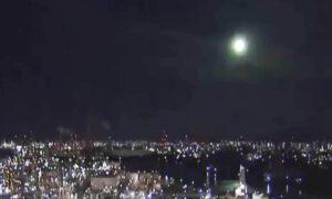 Espectacular explosión de meteorito ilumina el cielo de Japón (VIDEO)