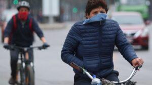 Descenso de temperatura en  Tamaulipas por frente frío