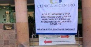 Hospitales de Chihuahua sin espacio para atender casos de covid