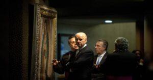 ¿Joe Biden visitó la Basílica de Guadalupe?; aquí la verdad
