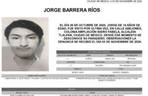 Surge nueva versión de la desaparición de Jorge Barrera