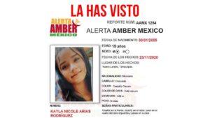 Lanzan ALERTA AMBER tras desaparición de jovencita en Nuevo Laredo