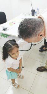 Aplican 1,200 vacunas a enfermos crónicos