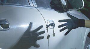 Asegure su carro… ladrones al acecho