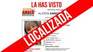 Localizan a jovencita desaparecida en Nuevo Laredo tras ALERTA AMBER